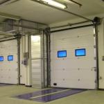 Установка и монтаж гаражных секционных ворот.