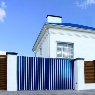 Ворота алюминиевые